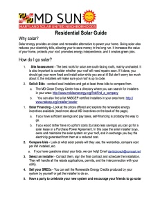 Guide_How to go solar