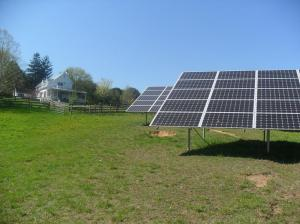 solar installation on Carroll County farm